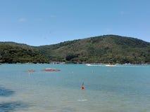 Praia de Camboriu Brasil Imagem de Stock Royalty Free