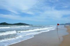 Praia de Campeche, Florianopolis, Brasil fotos de stock royalty free