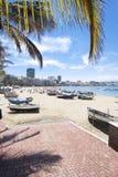 Praia de Canteras, Las Palmas de Gran Canaria, Spain Imagem de Stock Royalty Free