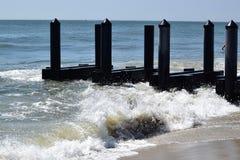 Praia de Cape May Fotos de Stock Royalty Free