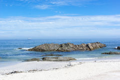 Praia de Cape Town Fotografia de Stock