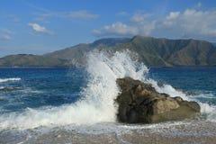 Praia de Capones Imagem de Stock Royalty Free