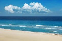 Praia de Caraíbas Foto de Stock Royalty Free