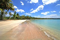 Praia de Caribean Foto de Stock Royalty Free