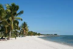 Praia de Caribean Imagens de Stock Royalty Free