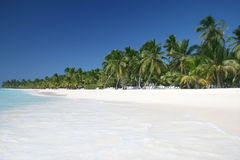 Praia de Cariibbean Foto de Stock Royalty Free