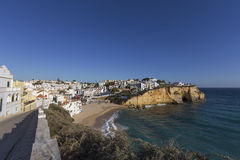Praia de Carvoeiro, Algarve, Portugal Stock Photo