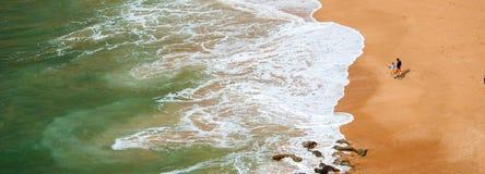 Praia de Carvoeiro, Algarve, Portugal Royalty Free Stock Images
