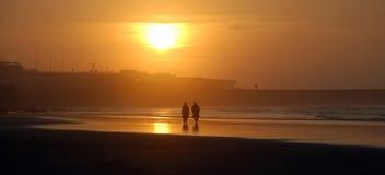 Praia de Casablanca Fotos de Stock