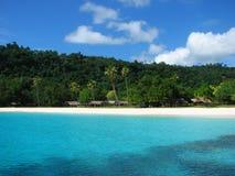 Praia de Champagne, Vanuatu fotografia de stock royalty free