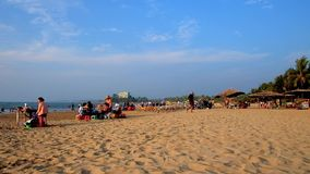 Praia de Chaung Tha, Myanmar video estoque