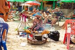Praia de Chaweng Imagem de Stock Royalty Free