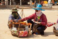 Praia de Chaweng Imagens de Stock