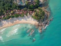 Praia de Chaweng foto de stock