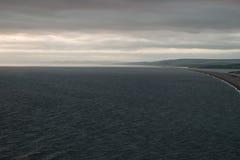 Praia de Chesil fotografia de stock