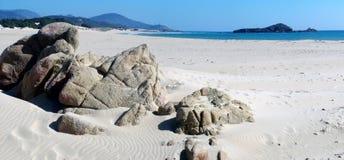 Praia de Chia Foto de Stock