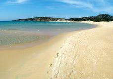 Praia de Chia Fotografia de Stock Royalty Free