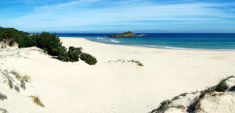 Praia de Chia Imagens de Stock Royalty Free