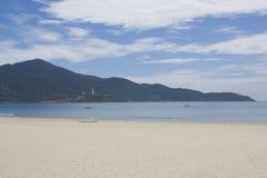 Praia de China, nang da Dinamarca, Vietnam fotografia de stock
