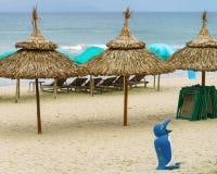 Praia de China no Da Nang Imagem de Stock