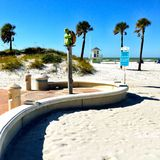 Praia de Clearwater Fotografia de Stock Royalty Free
