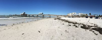 Praia de Clearwater Imagem de Stock