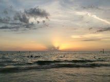 Praia de Clearwater Foto de Stock