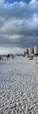 Praia de Clearwater em Florida Fotografia de Stock Royalty Free