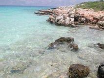 Praia de Cleopatra Imagem de Stock