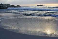 Praia de Clifton ó perto de Cape Town Imagem de Stock Royalty Free