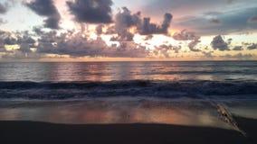 Praia de Clound Imagens de Stock Royalty Free