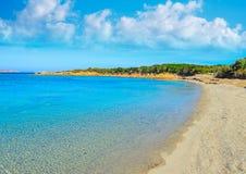 Praia de Conca Verde em um dia de verão claro Fotos de Stock
