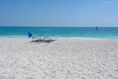 Praia de Conero Foto de Stock Royalty Free