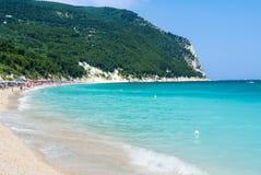 Praia de Conero Imagens de Stock Royalty Free