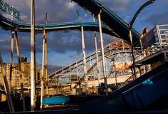 Praia de Coney Island em NYC Imagens de Stock