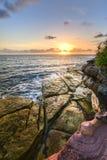 Praia de Coogee, Sydney Australia Fotografia de Stock