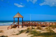 Praia de Cortadura - Cadiz Fotos de Stock Royalty Free