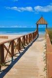 Praia de Cortadura - Cadiz Foto de Stock Royalty Free