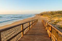 Praia de Costa Blanca imagem de stock