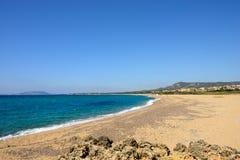 Praia de Costa Navarino Imagens de Stock