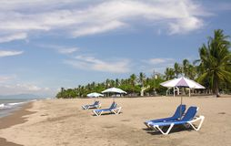 Praia de Costa-Rica imagens de stock royalty free