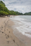 Praia de Costa Rica Imagens de Stock Royalty Free