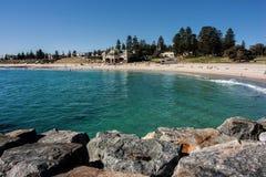 Praia de Cottesloe Imagem de Stock Royalty Free