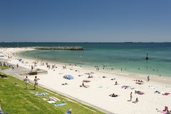 Praia de Cottesloe, Perth, Austrália Ocidental Foto de Stock