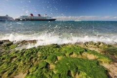 Praia de Cozumel Foto de Stock