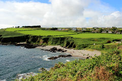 Praia de Crossheaven, Irlanda Foto de Stock
