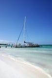Praia de Cuba Fotografia de Stock