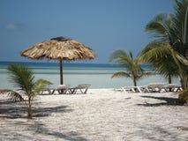 Praia de Cuba Foto de Stock Royalty Free