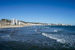 Praia de Cullera Imagem de Stock Royalty Free