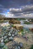 Praia de Dôvar   Imagem de Stock